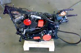 1989 harley softail bobber motorcycle with evo engine by lou from