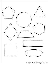 Disegno Forme Geometriche Di Base Da Colorare Disegni Da Colorare
