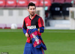 Technically perfect, he brings together unselfishness, pace, composure and goals to make him number one. Lionel Messi Fined 600 For Diego Maradona Tribute Football Espana