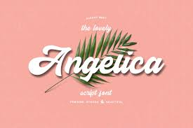 Angelica Is A Beautiful And Elegant Script Font Free Script Fonts Free Fonts Download Free Fonts For Cricut