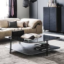 Modern furniture for living room Contemporary Tables Lushome Modern Living Room Furniture Cantoni