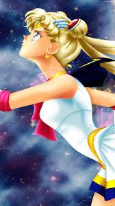 Sailor Moon, blonde anime girl 750x1334 ...