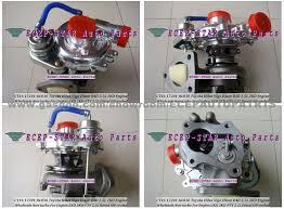 CT16 17201-OL030 17201-0L030 Turbine Turbo Turbocharger Fit For ...