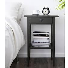 Ikea Hemnes Ablagetisch Schwarz Kommode Nachttisch Badezimmerschrank
