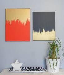 diy abstract canvas art ideas