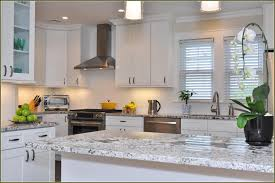 white shaker kitchen cabinets with granite countertops. Full Size Of Kitchen:attractive White Shaker Kitchen Cabinets With Granite Countertops Stainless Steel Range Large