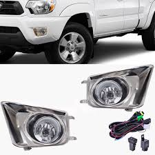 2013 Toyota Tacoma Fog Light Bulb For Toyota Tacoma 2012 2015 Front Bumper Fog Light Chrome Cover Grille With Led Switch Wiring Harness
