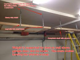 above garage door storage diy wageuzi