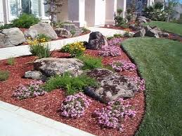 Small Picture Front Yard Front Yard Landscaping With Rocks Inspiring Garden