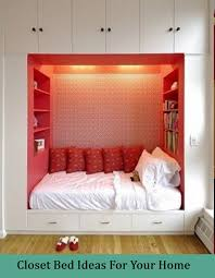 5 closet bed ideas for your home