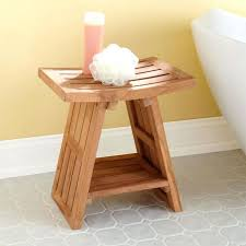wooden shower bench india