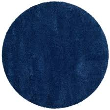 safavieh milan navy 7 ft x 7 ft round area rug