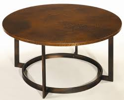 antique copper coffee table hammered coffee table copper coffee table round