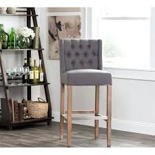 gray counter stools light gray leather counter stools