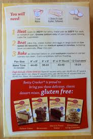 Betty Crocker Gluten Free Cake Mix and Easy Cupcake Decorating