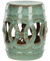 ceramic garden stools. Maia Ceramic Garden Stool, Quick Ship Stools