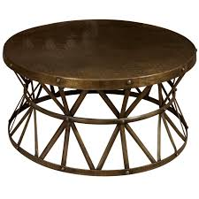 round metal wire coffee table gorgeous base wood top