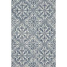 alexander home hand hooked charlotte ivory blue rug 23 x 39 fresh hand hooked rugs definition