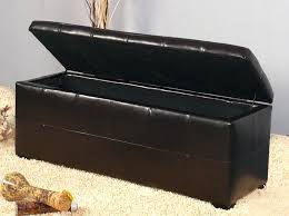wonderful best leather storage bench home inspirations design how to within leather storage bench popular extraordinay