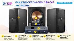 Bảo Châu Elec - Khách chốt ngay khi nghe thử bộ Dàn karaoke gia đình cao cấp  JBL 2021-03