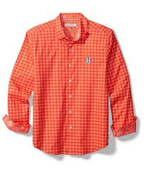 Tommy Bahama Shoe Size Chart Mens Houston Astros Competitor Button Up Shirt