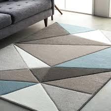teal area rugs street modern geometric carved gray rug 6x9 8 x 10 5x8