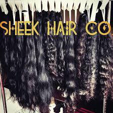 Sheek Hair Co 14 Inch Indian Virgin Raw Human ... - Amazon.com
