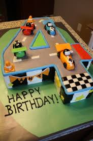 Race Car 4th Birthday Cake Cakes I Want To Makes In 2019 4th