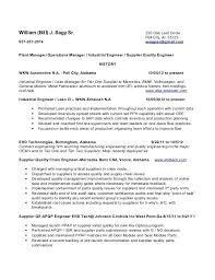 Engineering Manager Resume Examples Interesting Quality Manager Resume Sample Arzamas