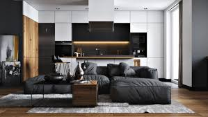 30 black white living rooms that work