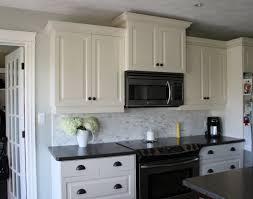 black kitchen cabinets tiles metal tile backsplash best granite for white new that excude calmness