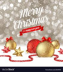 Free Christmas Greetings Christmas Greetings Royalty Free Vector Image Vectorstock
