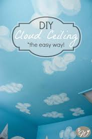 DIY Cloud Ceiling-the easy way