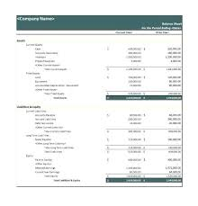 Simple Balance Sheet Excel Excel Balance Sheet Template Simple Example Consolidated