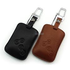 high quality genuine leather key case for renault talisman lacuna megane latitude scenic fluence koleos key wallet small leather goods wallet on a string