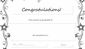 Congratulations Certificates Templates Free Congratulations Certificate Template Word