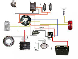 17 best images about motorcycle wiring diagrams simplified wiring diagram for xs400 cafe