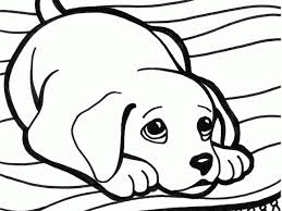 Kleurplaten Puppy Concept Coloring Pictures Of Puppys To Print And Color