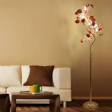 luxury crystal floor lamps modern european rural countryside rose living room book bedroom