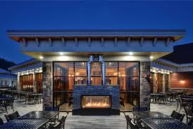 acucraft custom gas indoor outdoor fireplace slopeside grill pub blue mountain ski resort