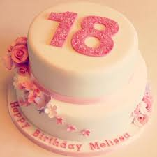 18 Birthday Cake Ideas Floral 18th Birthday Cakes Make The Pink A