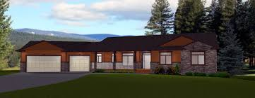 simple ranch style house plans with walkout basement custom house plans with walkout basement lovely simple ranch style thepinkpony org