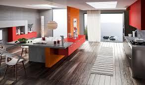 Red Kitchen Decor Kitchen Design Orange Kitchen Decorating Ideas Red Orange Gray