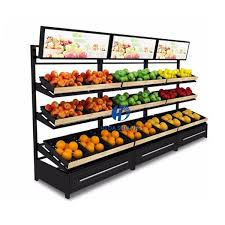 Fruit And Vegetable Stands And Displays Impressive High Quality Shelf Supermarket Metal Vegetable And Fruit Display