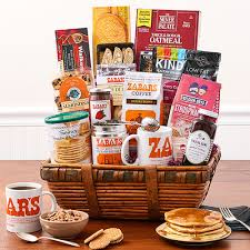 new york breakfast basket gift basket
