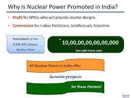nuclear power   36 why is nuclear power