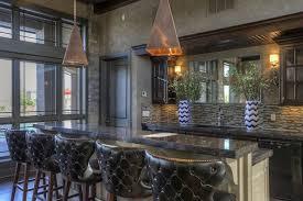 custom home bar furniture. custom home bar with leather barstools and glass backsplash furniture