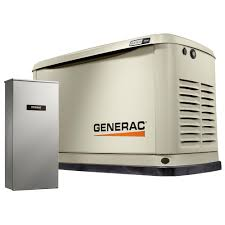 generac. Generac 9,000-Watt (LP)/8,000-Watt (NG) Air Cooled E