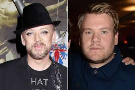 boy george 2014 weight loss. Contemporary George James Corden Has Had A Little Help From Boy George Intended 2014 Weight Loss E
