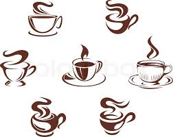coffee cup silhouette vector. Modren Cup Coffee Cups And Mugs Vector Throughout Cup Silhouette Vector P